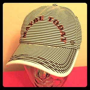🆕 ONLY 1! Roxy Striped Maybe Today Cap